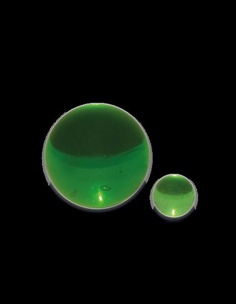 Bild von Glaskugel grün energetisierend