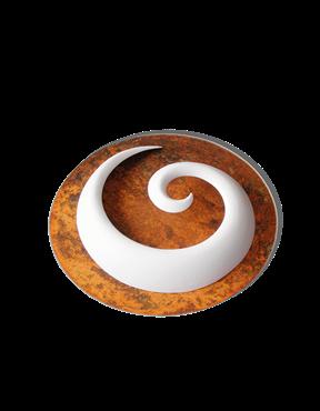 Bild von Keramik Porzellanspirale