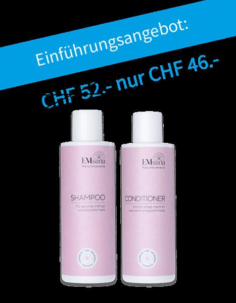 Bild von EMsana Naturkosmetik Shampoo & Conditioner Duo-Set
